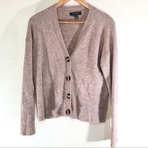 Primark dusty rose cardigan size small